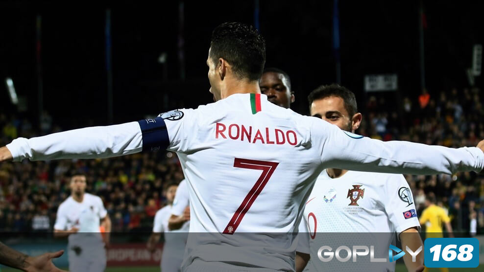 Cristiano Ronaldo Top Skor Eropa