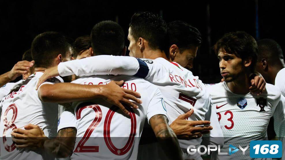 Cristiano Ronaldo Mencetak 4 Gol Untuk Kemenangan Portugal